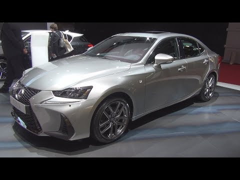 Lexus IS 300h F Sport Executive (2019) Exterior and Interior