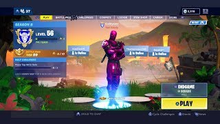 Fortnite The Avengers: Endgame LTM Playing With The New Pink Hybrid Skin