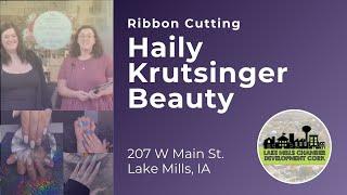 Haily Krutsinger Beauty Ribbon Cutting  - 10.8.21