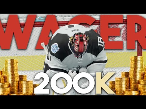 NHL 17 HUT | 200K WAGER MATCH VS DekeaSaurusRex
