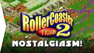 RollerCoaster Tycoon 2 ► Gameplay & Nostalgia! - Theme Park Management Sim - [Nostalgiasm]