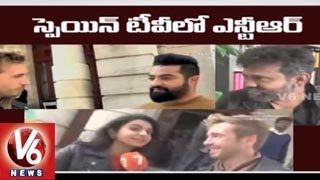 Jr. NTR interview with Spain News Channel   Nannaku Prematho Movie shooting - Tollywood Gossips