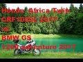 Обзор и сравнение Honda Africa Twin CRF1000L 2017 Vs BMW GS 1200 Adventure 2017 mp3