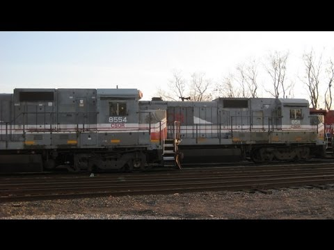 Former LMX GE B39-8s in action in Connecticut