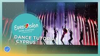 Dance tutorial with Eleni Foureira from Cyprus!