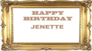 Jenette   Birthday Postcards & Postales