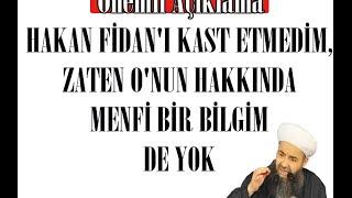 Gambar cover Hakan Fidan'ı Kast Etmedim,Zâten O'nun Hakkında Menfî Bir Bilgim De Yok ! | Cübbeli Ahmet Hoca