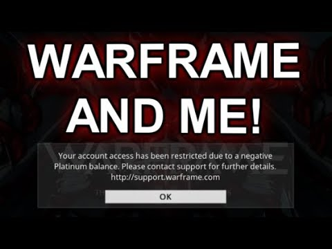 IMPORTANT MESSAGE ABOUT WARFRAME! What Happened With Me & WARFRAME!