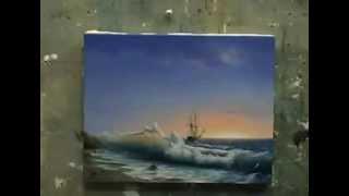 Процесс доработки морского пейзажа от Дмитрия Розы Свежим взглядом
