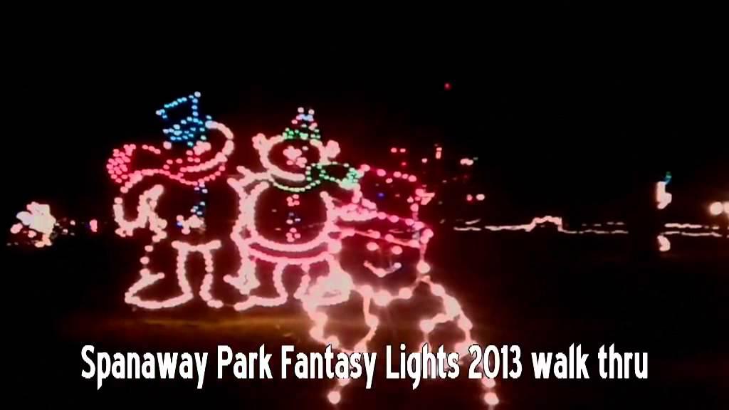 Spanaway Fantasy Lights 2013 - YouTube