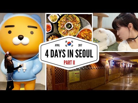 4 Days in Seoul - N Tower, Cat Cafe, Jimjilbang & Seoul Night View | KOREA TRAVEL GUIDE - PART 2