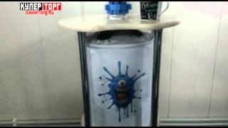 Обзор подставки для бутыли с помпой Ael
