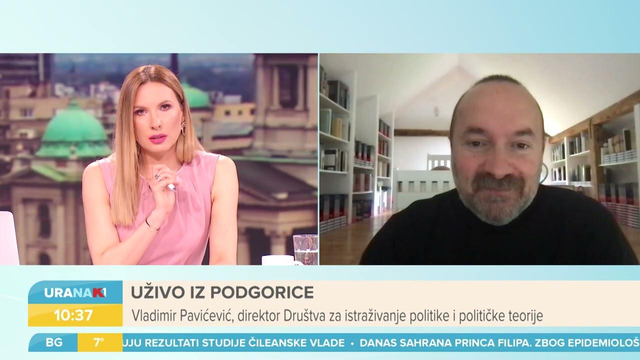 URANAK1 | Šta je nestabilnije u Crnoj Gori - država ili fotelja Krivokapića? | Vladimir Pavićević
