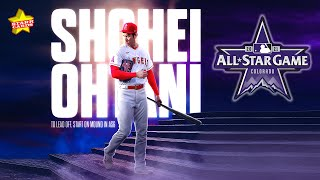 All-Star Game SHOCKER! Shohei Ohtani to lead off AND start on mound in another historic first