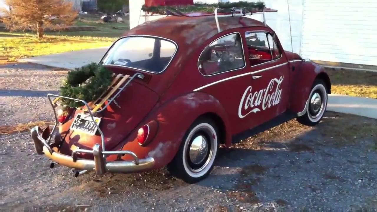 Walk around- 1966 Coca-Cola VW Beetle - YouTube