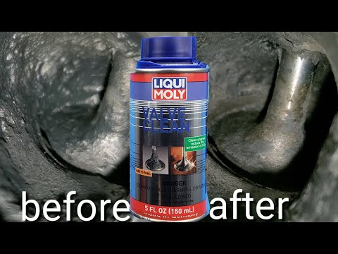 Liqui moly valve clean works!