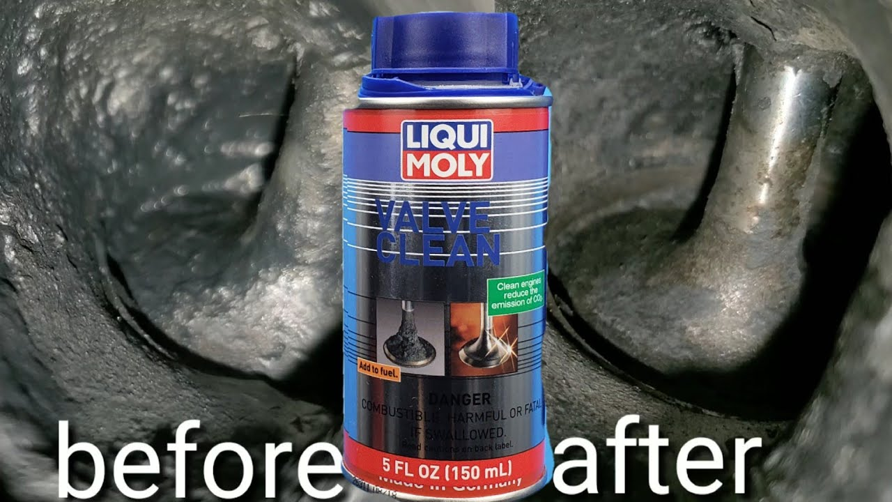 liqui moly valve clean works youtube. Black Bedroom Furniture Sets. Home Design Ideas