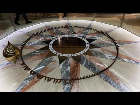 ZEN VIDEO: 24 Minutes Of The Foucault Pendulum At The Houston Museum Of Natural Science