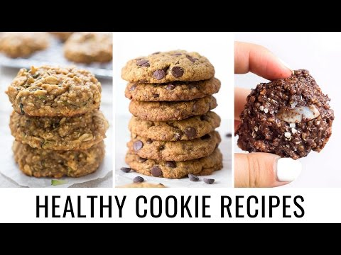 HEALTHY COOKIE RECIPES | 3 different ways