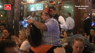 Istanbul. Fish Kumkapi restaurants. Стамбул. Рыбные рестораны квартала Кумкапы.