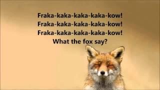 What does the fox say con subtitulos en ingles