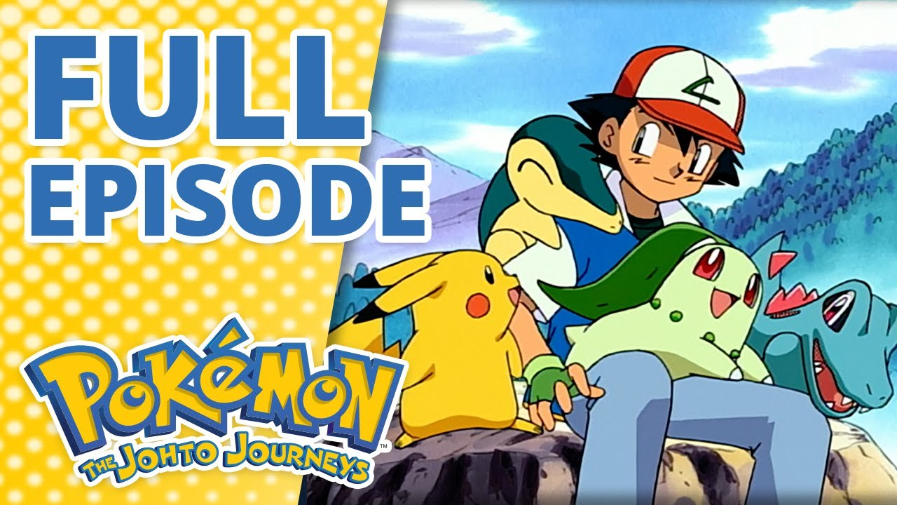 Download Don't Touch That 'dile [FULL EPISODE] 📺   Pokémon: The Johto Journeys Episode 1
