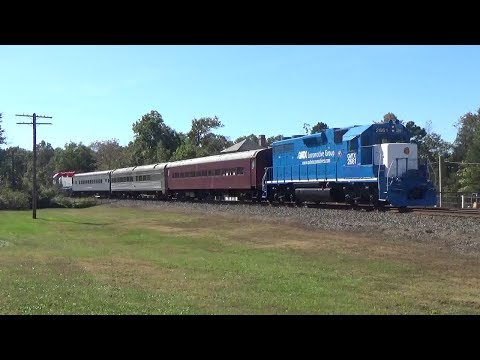 Cape May Seashore Lines Autumn Run, Richland-Tuckahoe NJ with Cab-Mounted Leslie RS3L Horns