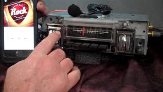 1969 Plymouth Roadrunner original am radio