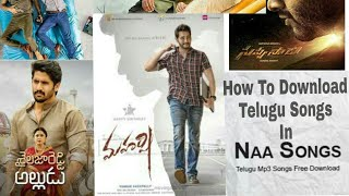 HOW TO DOWNLOAD NEW TELUGU SONGS|in naa songs.com