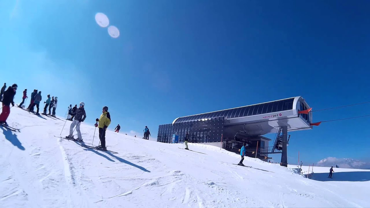 skiing in flachau / ski amadé 3/2015 - youtube