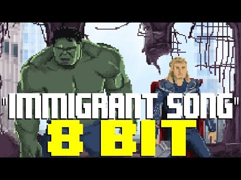 Immigrant Song (from Thor Ragnarok) [8 Bit Tribute to Led Zeppelin] - 8 Bit Universe