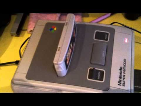 Scart cable test from Play Asia with Super Famicom