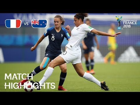 France v. New Zealand - FIFA U-20 Women's World Cup France 2018 - Match 9