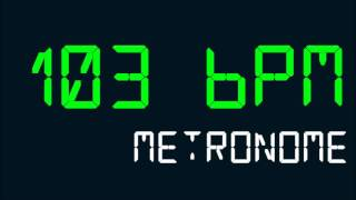 103 BPM (Beats Per Minute) Metronome