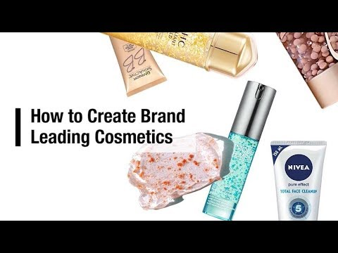 How to create brand leading cosmetics
