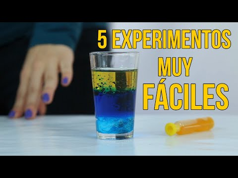 5 science experiments for kids (COMPILATION)