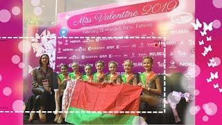Miss Valentine 2019//Международный турнир по эстетической гимнастике в Тарту