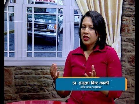 Dr. Samyukta Bista Karki in Health Station