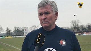 Cor Adriaanse over duel tegen Chelsea in Youth League - VOETBAL INSIDE
