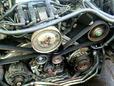 How To Replace The Timing Belt On A Vw Passat Audi A4 A Doovi