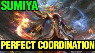 Sumiya Have The Perfect Coordination - Invoker - Dota 2