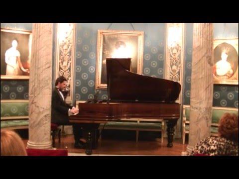 Zharko Paunov  - Chopin's Polonaise op. 53 at La Scala Milan