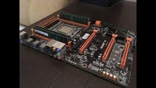 Первые запчасти для домашнего сервера на базе Xeon E5-2670, Huanan x79 и 32Gb DDR3 ECC REG памяти.