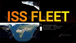 Fleet of Lights Spotted Passing under the ISS, before NASA went Dark on 07/12/2021
