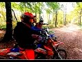 Moto Enduro Chute Police 2016 Ariège France Ktm Yamaha Kawasaki