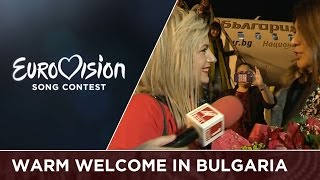 Poli Genova gets a warm welcome in Bulgaria