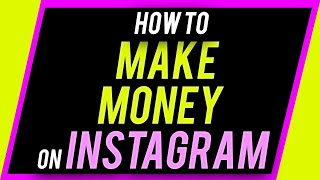 You can make money on instagram using these 5 methods. unlike other social media platforms such as facebook and , simply from views...