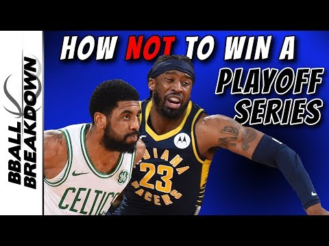 How Not To Win A Playoff Series, By The Indiana Pacers