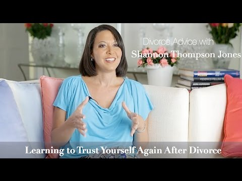 How to trust again after divorce