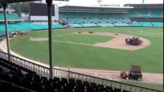 MLB Diamondbacks vs Dodgers Sydney Australia Field Inspection